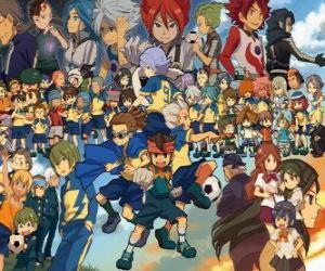 Puzzle de Personajes de Inazuma Eleven