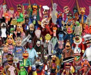 Puzzle de Personajes de Los Muppets