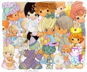 Puzzle de Personajes de Precious Moments