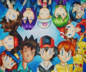 Puzzle de Personajes Pokémon