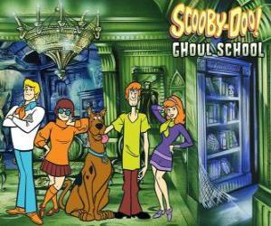 Puzzle de personajes principales de Scooby-Doo