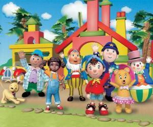 Puzzle de Personajes principales de Noddy