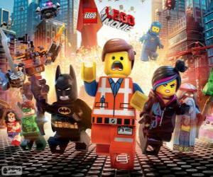 Puzzle de Personajes principales de la película Lego