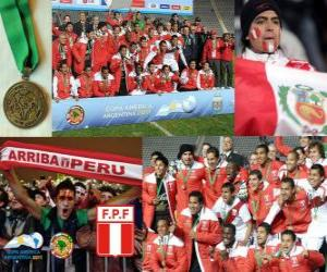 Puzzle de Perú, 3er clasificado Copa América 2011