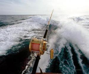 Puzzle de Pesca deportiva desde embarcación.