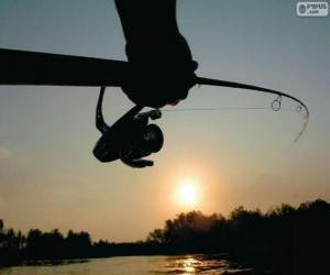 Puzzle de Pesca deportiva