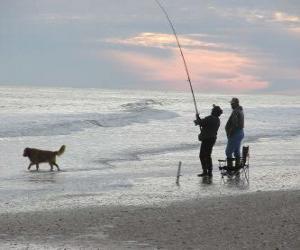 Puzzle de Pescador de costa