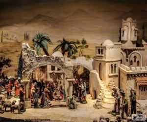Puzzle de Pesebre nacimiento Jesús