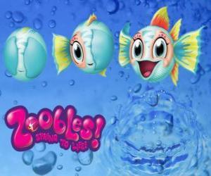 Puzzle de Pez, Zoobles de Seagonia