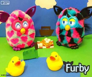 Puzzle de Picnic Furby