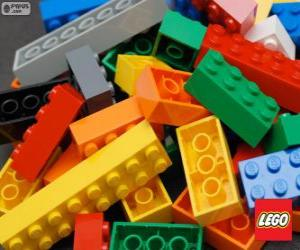Puzzle de Piezas de Lego