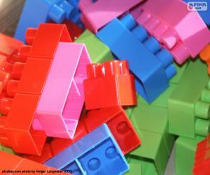 Puzzle de Piezas juego construcción
