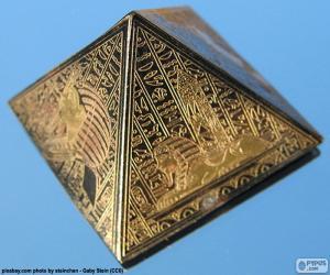 Puzzle de Pirámide de base cuadrada