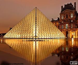 Puzzle de Pirámide Museo del Louvre
