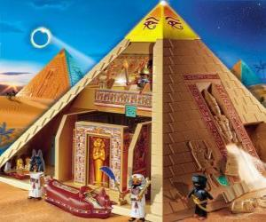 Puzzle de Piramide Egipto Playmobil