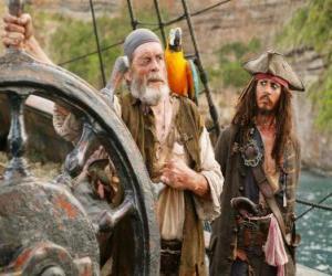 Puzzle de Pirata al timón