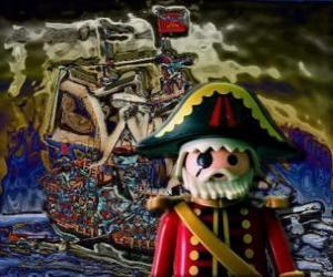 Puzzle de Pirata de Playmobil