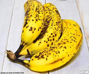 Puzzle de Plátanos maduros