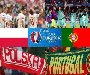 Puzzle de PL-PT, cuartos Euro 2016