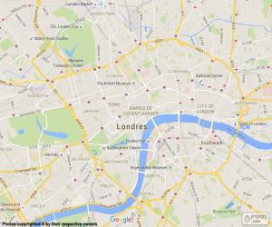 Puzzle de Plano de Londres