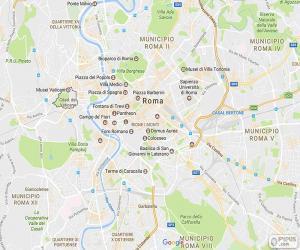 Puzzle de Plano de Roma