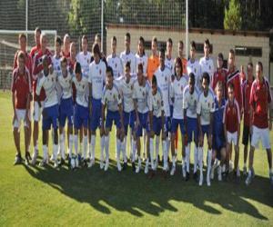 Puzzle de Plantilla del Real Zaragoza 2009-10