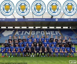 Puzzle de Plantilla Leicester City 2015-16