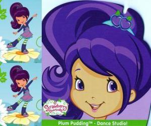 Puzzle de Plum Pudding, amiga de Tarta de Fresa