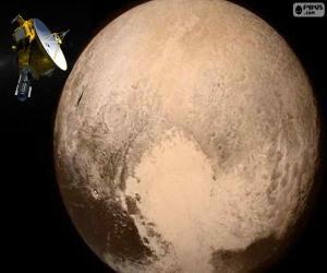 Puzzle de Plutón y New Horizons