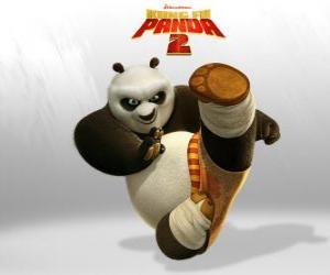 Puzzle de Po es el protagonista principal de las aventuras de la película Kung Fu Panda 2