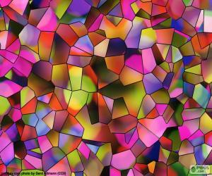 Puzzle de Polígonos de colores