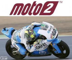 Puzzle de Pol Espargaró, campeón del mundo 2013 de Moto2