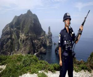 Puzzle de Policía Coreano