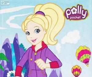 Puzzle de Polly Pocket con ropa deportiva o ropa de deporte