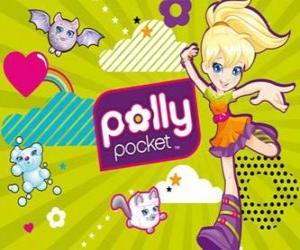 Puzzle de Polly Pocket con sus mascotas