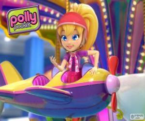 Puzzle de Polly Pocket en una de sus aventuras