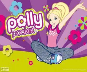 Puzzle de Polly sentada en el suelo