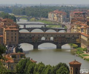 Puzzle de Ponte Vecchio, Florencia
