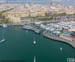 Puzzle de Port Vell, Barcelona