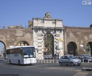 Puzzle de Porta San Giovanni, Roma