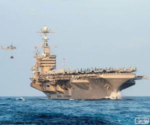 Puzzle de Portaaviones es un buque de guerra capaz de transportar y operar aviones