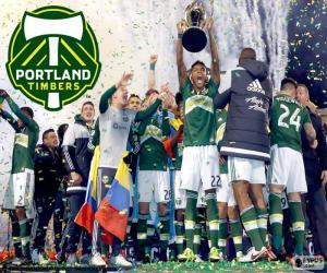 Puzzle de Portland Timbers, MLS 2015