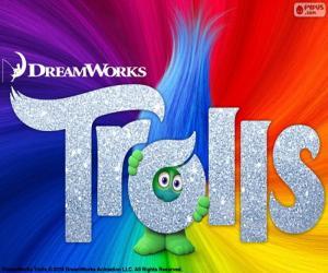 Puzzle de Poster película Trolls