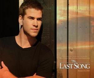 Puzzle de Poster promocional de La última canción (Liam Hemsworth)