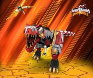 Puzzle de Power Rangers Dino Thunder