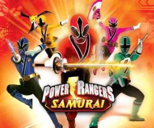 Puzzle de Power Rangers Samurai