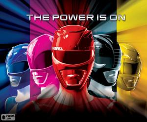Puzzle de Power Rangers, The Power is on