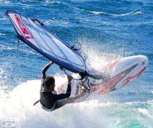 Puzzle de Practicando Windsurf