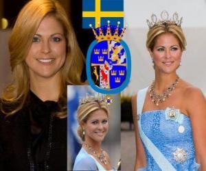 Puzzle de Princesa Magdalena de Suecia