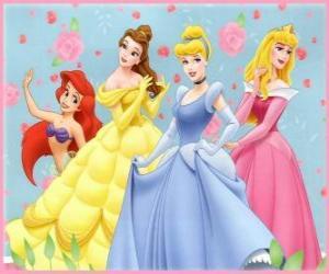 Puzzle de Princesas Disney